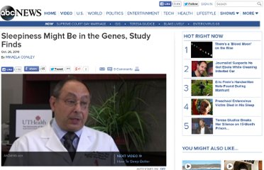 http://abcnews.go.com/Health/Sleep/genes-people-react-differently-lack-sleep-study/story?id=11965827#.UVi4ONGI70M