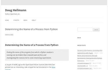 http://doughellmann.com/2012/04/determining-the-name-of-a-process-from-python-2.html