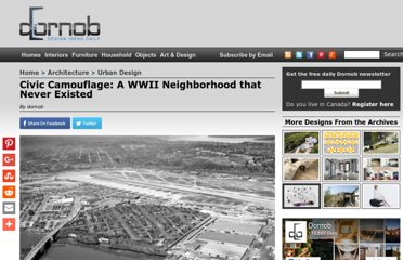 http://dornob.com/civic-camouflage-a-wwii-neighborhood-that-never-existed/#axzz2P7qfdvkK