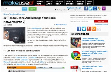 http://www.makeuseof.com/tag/20-tips-to-manage-your-online-social-life-part-2/