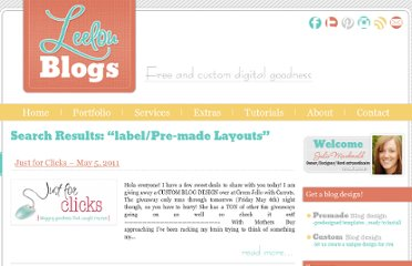 http://leelou-blogs.com/search/label/Pre-made%20Layouts
