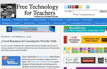 http://www.freetech4teachers.com/2010/10/5-good-resources-for-learning-periodic.html#.UVjlrtGI70M