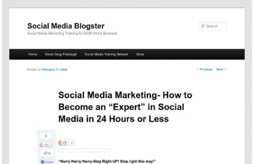 http://socialmediablogster.com/social-media-marketing-how-to-become-an-expert-in-social-media-in-24-hours-or-less.html