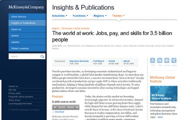 http://www.mckinsey.com/insights/employment_and_growth/the_world_at_work