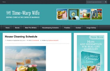 http://time-warp-wife.blogspot.com/2010/09/home-maintenance-schedule.html