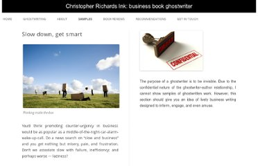 http://christopherrichards.com/slow-down-get-smart/