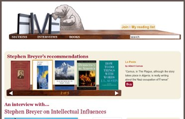 http://fivebooks.com/interviews/stephen-breyer-on-intellectual-influences?page=3