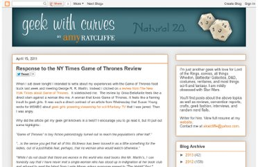 http://www.geekwithcurves.com/2011/04/response-to-ny-times-game-of-thrones.html