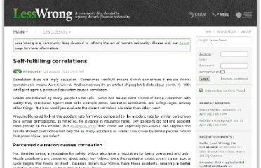 http://lesswrong.com/lw/2n5/selffulfilling_correlations/#more