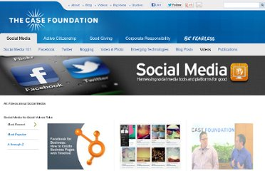 http://casefoundation.org/topic/social-media/videos