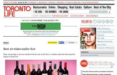 http://www.torontolife.com/daily/daily-dish/drinks-dish/2010/01/02/best-wines-under-10/