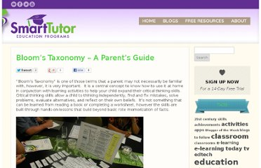 http://thinkonline.smarttutor.com/blooms-taxonomy-a-parents-guide/