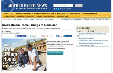 http://www.motherearthnews.com/Green-Homes/2005-12-01/Your-Green-Dream-Home-First-Things-To-Consider.aspx#axzz2PBih16Wr