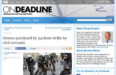 http://content.usatoday.com/communities/ondeadline/post/2011/10/greece-paralyzed-by-24-hour-strike-by-civil-servants/1#.UVkg6NGI70M