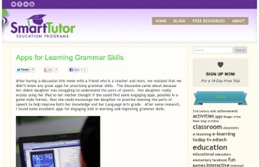 http://thinkonline.smarttutor.com/apps-for-learning-grammar-skills/