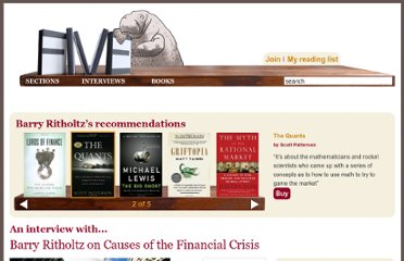 http://fivebooks.com/interviews/barry-ritholtz-on-causes-financial-crisis