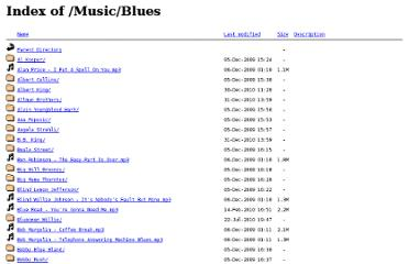 http://bobgentile.com/Music/Blues/