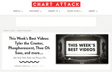 http://www.chartattack.com/watch/2013/03/30/this-weeks-best-videos-tyler-the-creator-phosphorescent-thee-oh-sees-and-more/