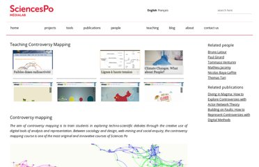 http://www.medialab.sciences-po.fr/projets/teaching-controversy-mapping/