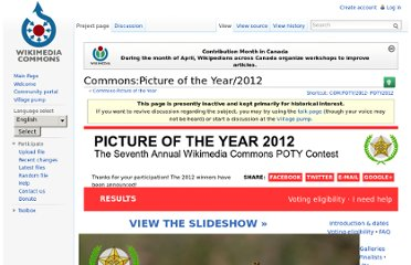 http://commons.wikimedia.org/wiki/Commons:Picture_of_the_Year/2012