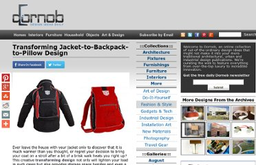 http://dornob.com/transforming-jacket-to-backpack-to-pillow-design/#axzz2P1tqQHdz
