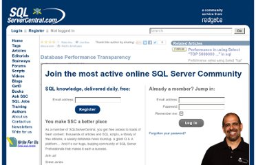 http://www.sqlservercentral.com/articles/Performance+Tuning/76855/
