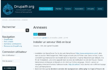 http://drupalfr.org/documentation/annexes