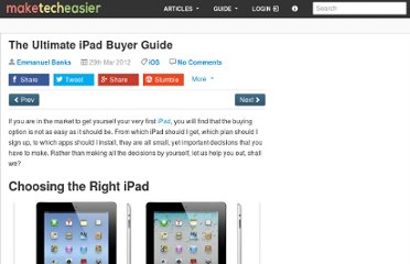 http://www.maketecheasier.com/the-ultimate-ipad-buyer-guide/2012/03/29