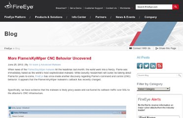 http://www.fireeye.com/blog/technical/malware-research/2012/06/flame-skywiper-cnc-update.html
