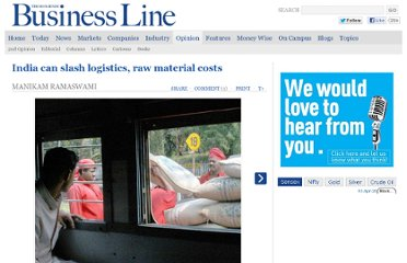 http://www.thehindubusinessline.com/opinion/india-can-slash-logistics-raw-material-costs/article3566042.ece