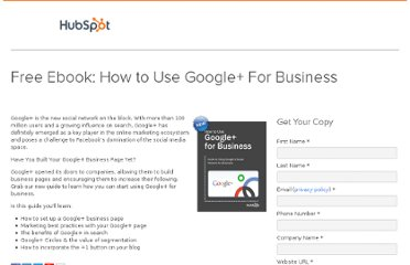 http://offers.hubspot.com/how-to-use-google-plus-for-business