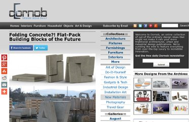 http://dornob.com/folding-concrete-flat-pack-building-blocks-of-the-future/#axzz2P36loI9t