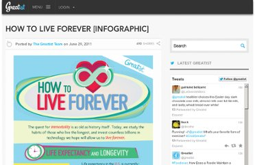 http://greatist.com/health/how-live-forever-infographic