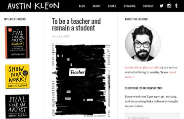 http://austinkleon.com/category/newspaper-blackout-poems/
