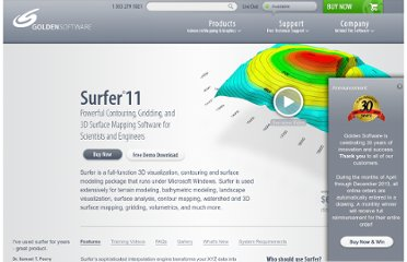 http://www.goldensoftware.com/products/surfer
