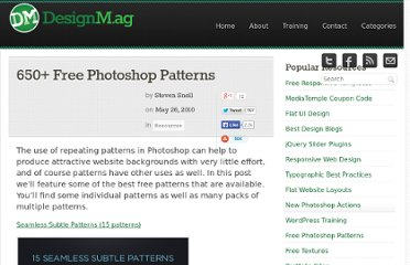 http://designm.ag/resources/2000-free-photoshop-patterns/