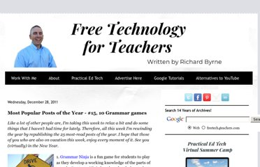 http://www.freetech4teachers.com/2011/12/most-popular-posts-of-year-15-10.html#.UVnVitGI70M