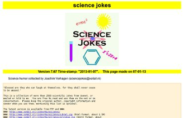 http://jcdverha.home.xs4all.nl/scijokes/index.html#famous_scientists