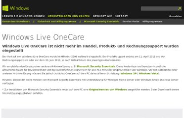 http://windows.microsoft.com/de-de/windows/security-essentials-onecare