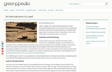 http://greenopedia.com/article/introduction-lead