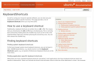 https://help.ubuntu.com/community/KeyboardShortcuts