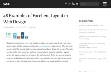 http://webdesignledger.com/inspiration/48-examples-of-excellent-layout-in-web-design
