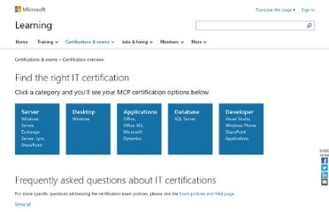 http://www.microsoft.com/learning/en/us/certification-overview.aspx#fbid=f38z9W-UNDe