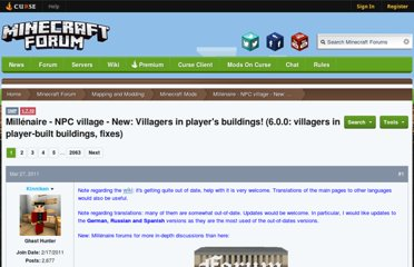 http://www.minecraftforum.net/topic/227822-151-spmp-millenaire-npc-village-new-byzantines-460-dialogues-between-villagers/