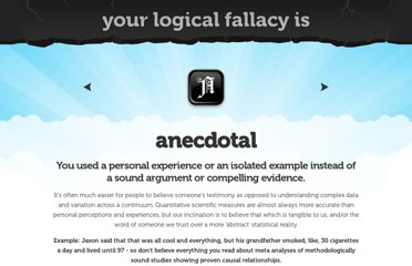 https://yourlogicalfallacyis.com/anecdotal