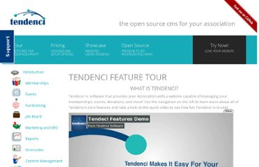 http://tendenci.com/features/