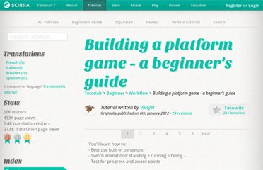 https://www.scirra.com/tutorials/243/building-a-platform-game-a-beginners-guide