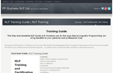 http://www.ppimk.com/nlp-training-guide/