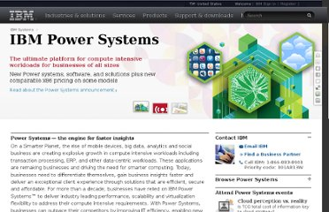 http://www.ibm.com/systems/power/