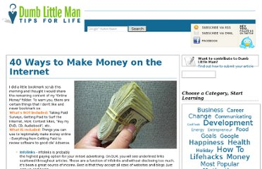 http://dumblittleman.blogspot.com/2006/10/40-ways-to-make-money-on-internet.html